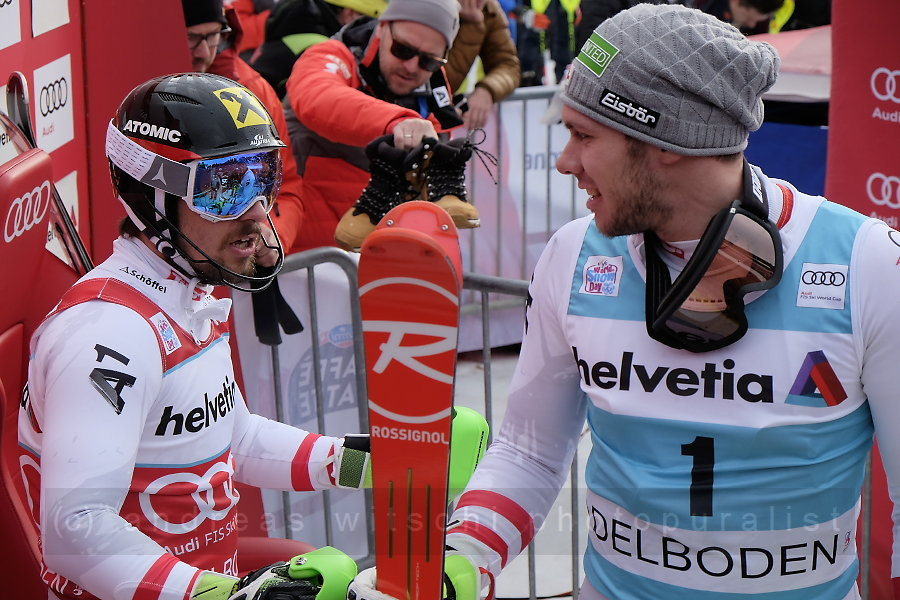 marcel hirscher and michael matt