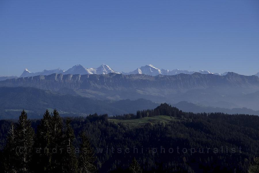 berner alpen von ringgis gesehen